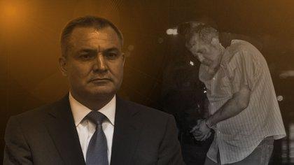 En la imagen Genaro García Luna (izquierda) y el ex jefe del Cártel de Sinaloa, Vicente Carrillo Fuentes (Foto: Infobae México/Jovani Pérez Silva)