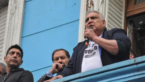 """Como Juan Pablo """"Pata"""" Medina (foto), Monteros es otro sindicalista de la UOCRA que quedó detenido (NA)"""