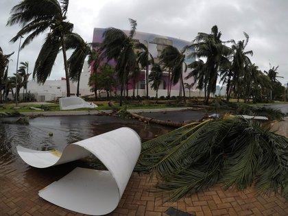 Quintana Roo podría ser uno de los estados más afectados por la tormenta (Foto:Alonso Cupul/EFE)