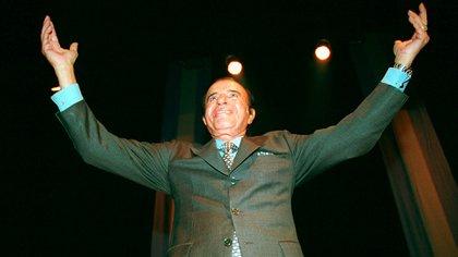 Carlos Menem (NA/HUGO VILLALOBOS)