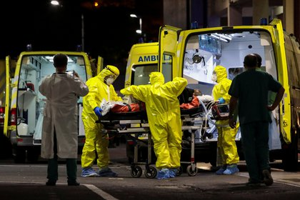 La pandemia ya causó más de 2,3 millones de muertos - REUTERS/Duarte Sa/File Photo