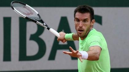 Mayer pasó a segunda ronda de Roland Garros por primera vez en cuatro años (AFP)