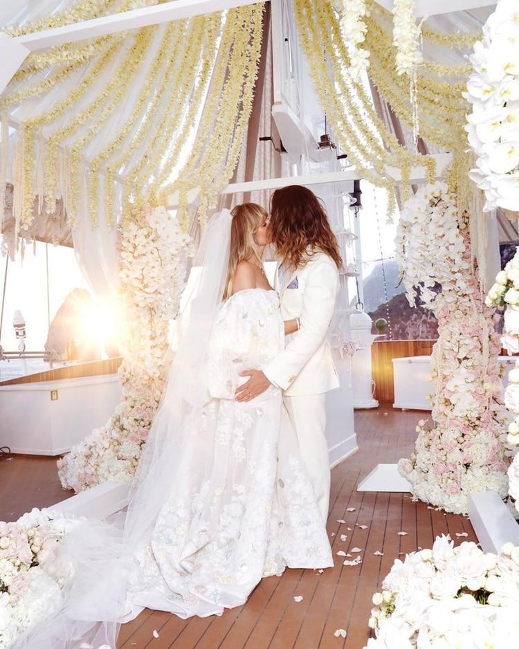 La boda de Heidi Klum y Tom Kaulitz