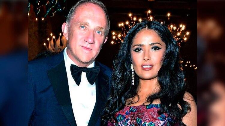El marido de la actriz mexicana Salma Hayek, François-Henri Pinault,decidió donar millones de euros para la reconstrucción de la catedral (Foto: instagram @salmahayek)