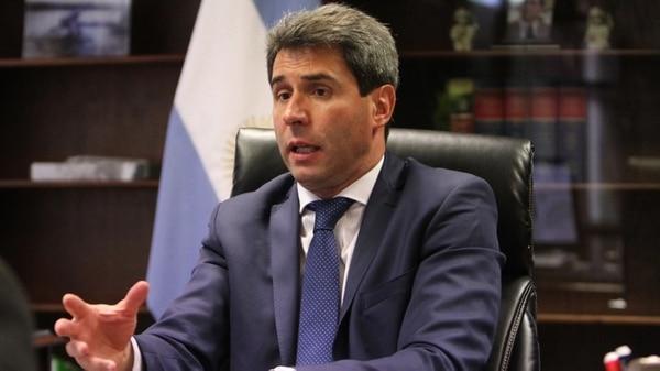 El gobernador de San Juan, Sergio Uñac