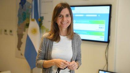 María Fernanda Raverta, titular de la Anses (Foto: Maximiliano Luna).