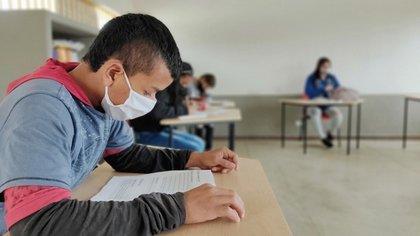 143 de 293 instituciones educativas de la región del Atlántico, aún no tienen las medidas de bioseguridad suficientes para el inicio de clases.  Foto: Min Educación.