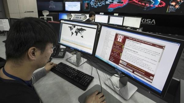 El virus WannaCry (AFP) afectó a miles de computadoras en distintos países del mundo