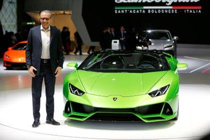 En la actualidad, Stefano Domenicali es el CEO de Lamborghini (REUTERS/Pierre Albouy)