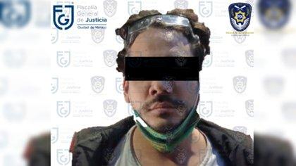 Al youtuber Rix, le fue determinada prisión preventiva oficiosa (Foto: FGJ-CDMX)