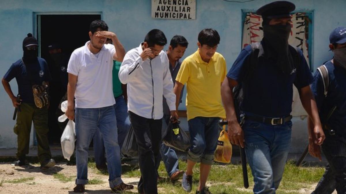 Grupo indígena en Chiapas liberó a cinco policías que tenían secuestrados desde el 18 de julio