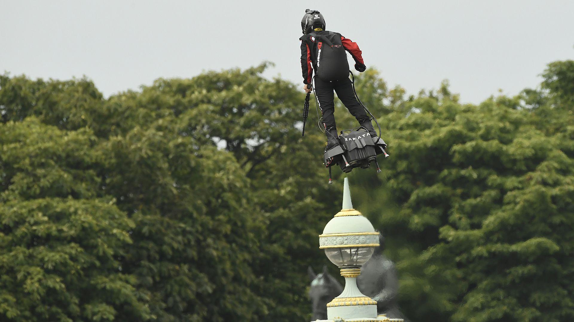 La invención de Zapata ha captado la atención de los militares franceses (AFP)