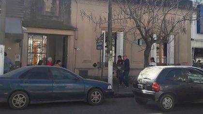 La escribanía Lamarca, donde ocurrió el hecho (Google Street View)
