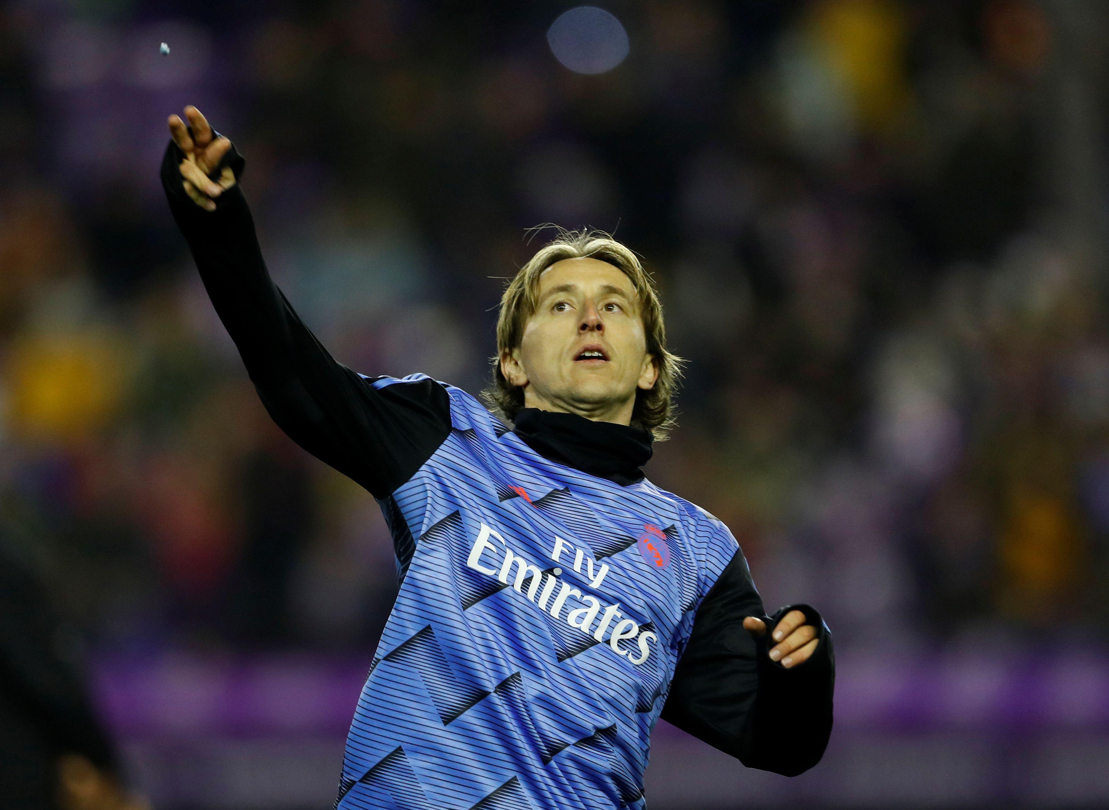 Luka Modric ha logrado triunfar pese a la adversidad (Reuetrs)