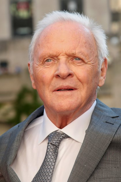"Anthony Hopkins en la premierde de ""Transformers: The Last Knight"" en 2017 (Reuters)"