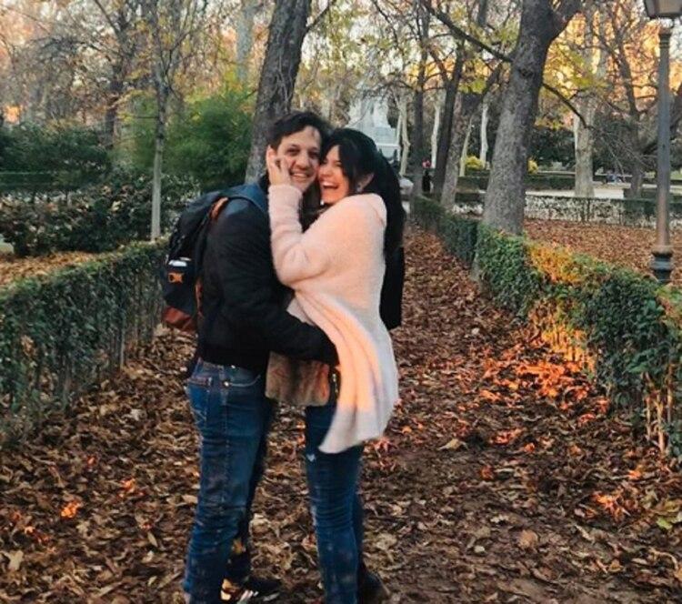 """Rodrigo y Ludmila están instalados en Madrid porque el actor formará parte de la nueva temporada de """"La casa de papel"""" (Instagram)"""