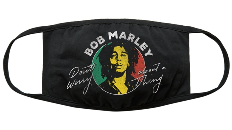 Barbijo solidario de Bob Marley - We've Got You Covered