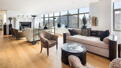 Ubicado en West Village, tiene 550 metros cuadrados, algo que no es usual en Nueva York (Douglas Elliman)