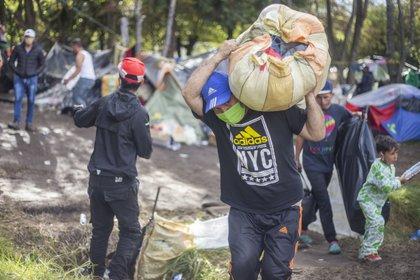Migrantes venezolanos en Colombia (Europa Press)