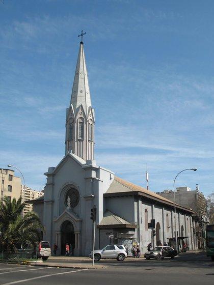 Iglesia de la Asunción, Santiago de Chile Fuente Arquidiócesis de Santiago