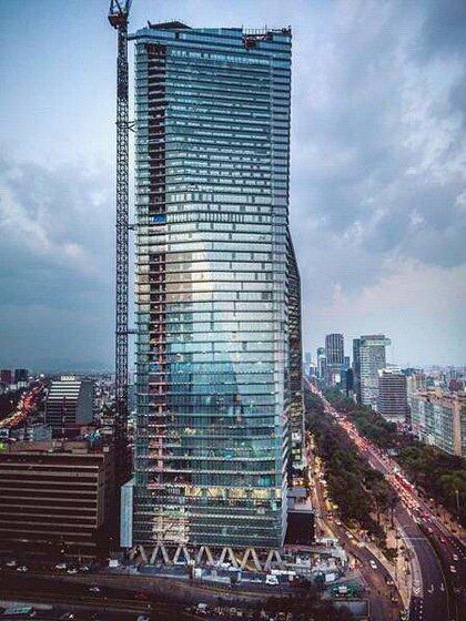 Ocupará el tercer puesto de edificaciones más grandes de la Ciudad de México (Foto: Wikipedia)
