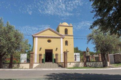 La capilla de San Francisco del Monte de Oro, en la actualidad.