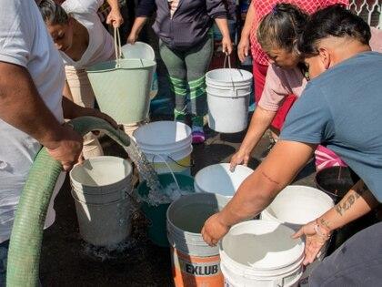 En Ciudad de México. alcaldías como Iztapalapa, han padecido históricamente este problema. (Foto: Saúl López/Cuartoscuro)