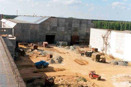 Centro de almacenamiento de materiales físiles, en 2003 (www.po-mayak.ru)