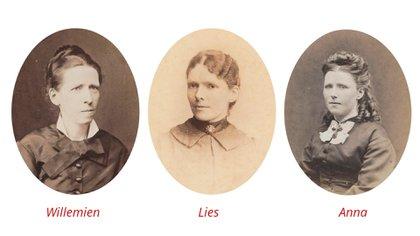 """""""Me fascinaron estas tres mujeres y sus vidas cargadas de acontecimientos"""", explicó el autor del libro, el historiador del arte Willem-Jan Verlinden."""