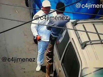 """El santero era el encargado de pagar sobornos para que """"El Lunares"""" pudiera operar en la CDMX (Foto: @c4jimenez)"""