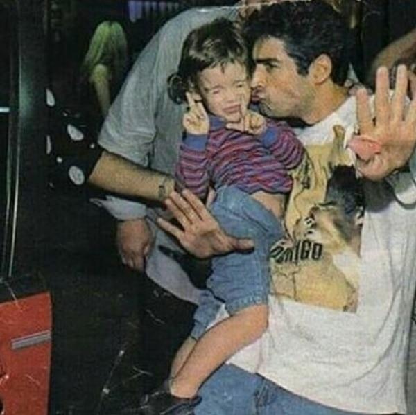 Rodrigo, con su hijo Ramiro