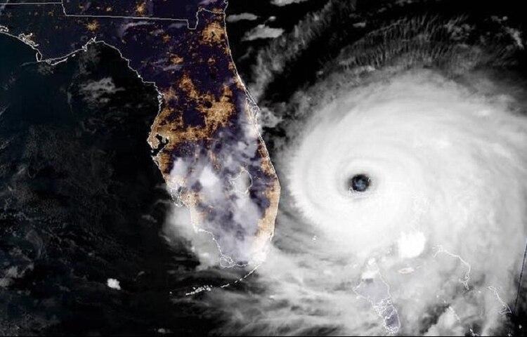 El huracán Dorian también es categoría 3 (Foto: Facebook Huracan Info Atlántico Oficial)