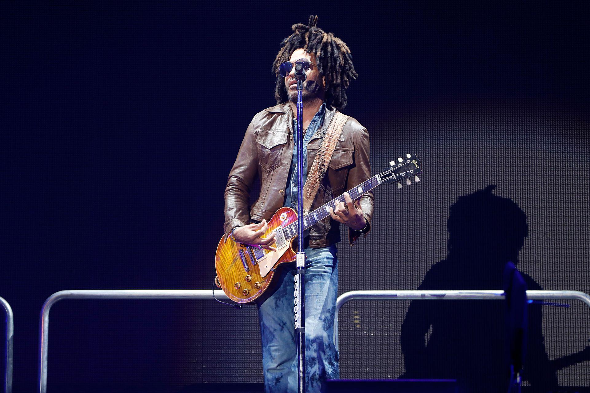 Lenny Kravitz tuvo un incidente con sus pantalones (Chule Valerga)
