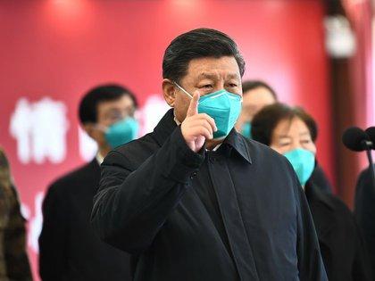El mandatario no hizo especial énfasis en la pandemia, que hoy afecta levemente a China (Xinhua)