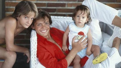 Sergio Basteri es el hermano menor de Luis Miguel,; hoy en día tiene 36 años y radica en Madrid (Foto: Archivo)