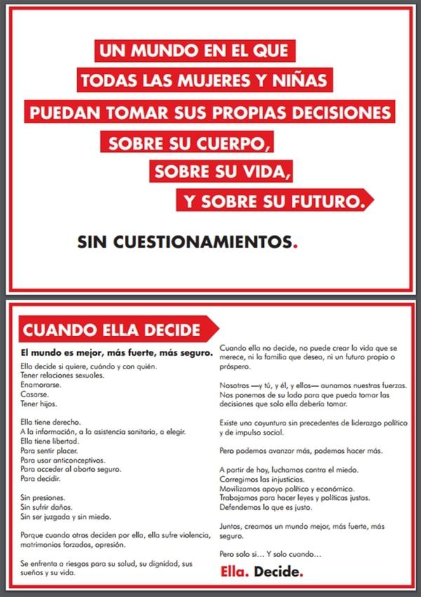 Manifesto SheDecides