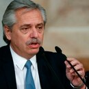 En la imagen, el presidente argentino, Alberto Fernández. EFE/Juan Ignacio Roncoroni/Archivo