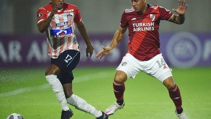 Video | Junior vence 1-0 a River Plate con gol de Miguel Ángel Borja