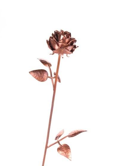 Rosas metalizadas