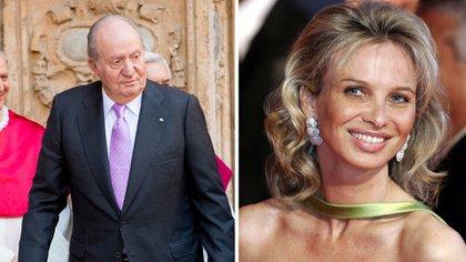 Juan Carlos y su ex amante Corinna zu Sayn-Wittgenstein