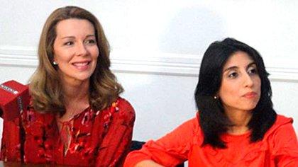"""Nunzia Locatelli y Cintia Suárez son autoras de """"Mama Antula, la mujer más rebelde de su tiempo"""""""
