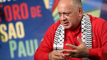 Diosdado Cabello contrajo coronavirus (REUTERS/Manaure Quintero/File Photo)