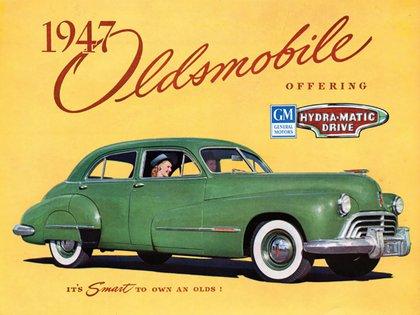 Los Oldsmobile fueron los primeros con caja automática, desde 1941.