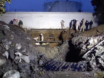 Personal de Pemex se encontraba en el lugar cuando ocurrió el flamazo (Foto: especial)