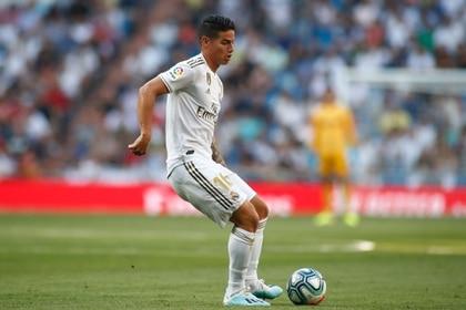 James Rodríguez no jugaba en el Bernabéu desde mayo del 2017 (Foto: Shutterstock)