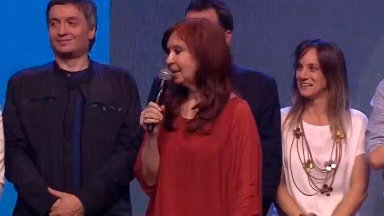 Cristina Fernández de Kirchner y Máximo Kirchner: ambos serán protagonistas en el Congreso