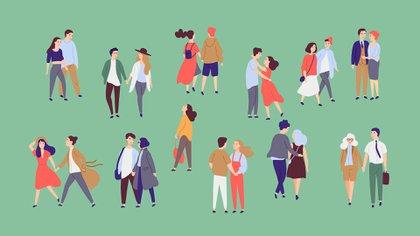 La cuarentena intervino en los lazos humanos en muchos y diferentes sentidos, en los laborales, en los familiares, en las amistades y por supuesto, en las parejas (Shutterstock)