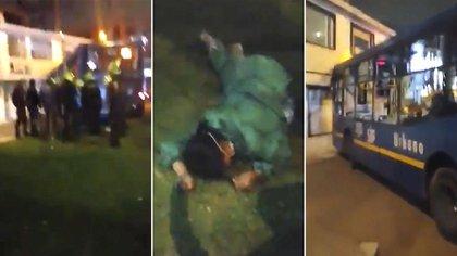 La mujer fue impactada por un bus de transporte público y perdió la vida.
