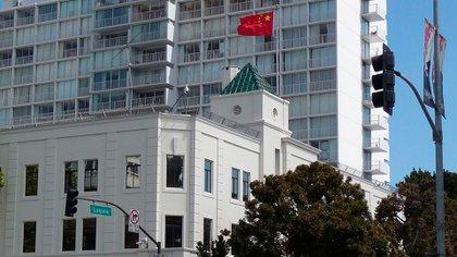 El consulado chino en San Francisco