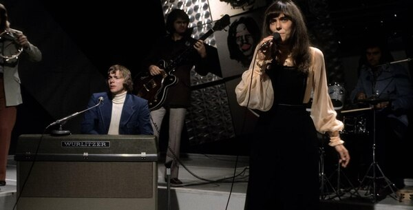 """The Carpenters"", en pleno show"